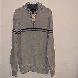 Eddie Bauer 1/4 zip sweater nwt